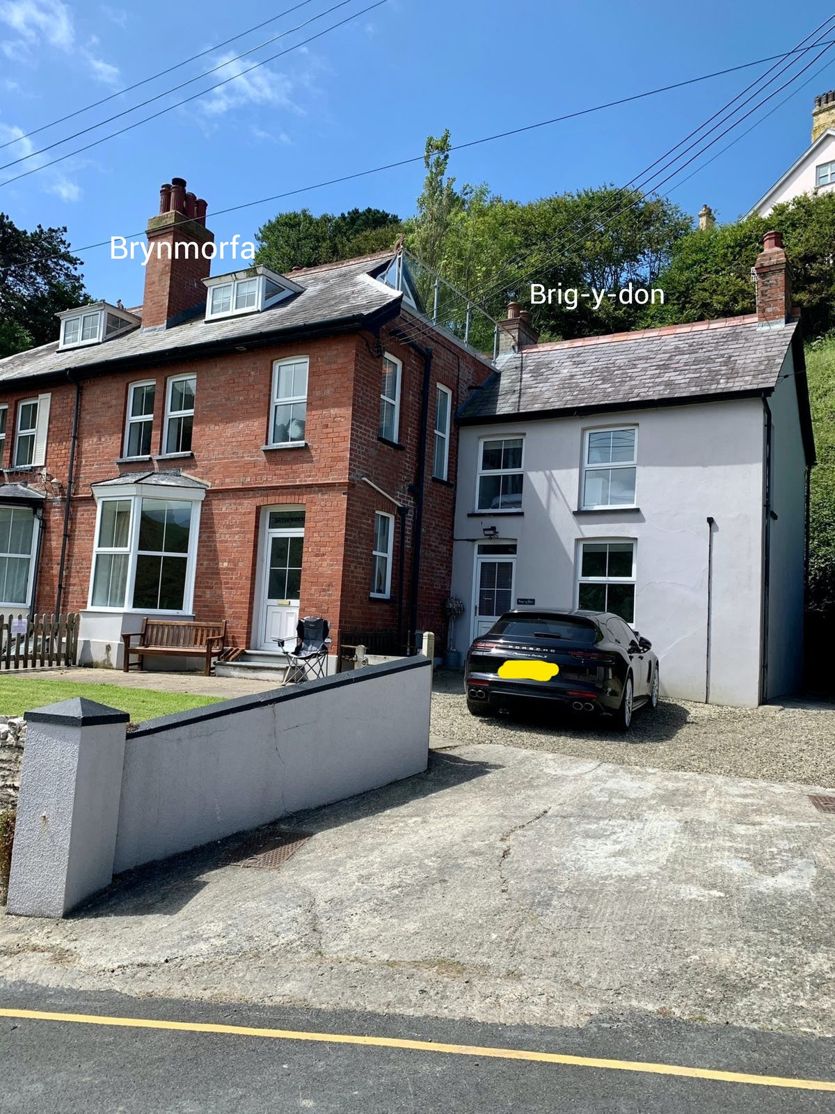 Brig Y Don Beach Cottage For 4 With Sea Views In