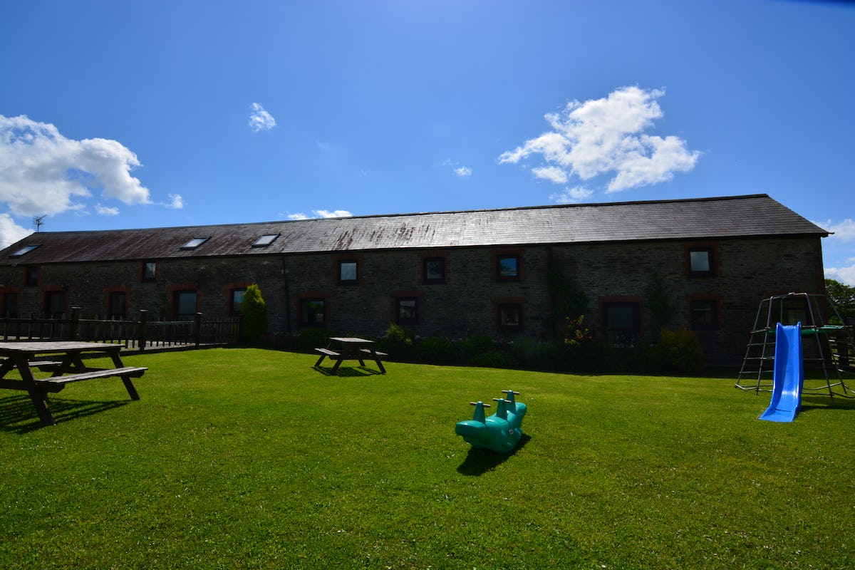 The Dairy Luxury Holiday Cottage With A Shared Swimming Pool On Penwaun Farm Tanglwst Capel