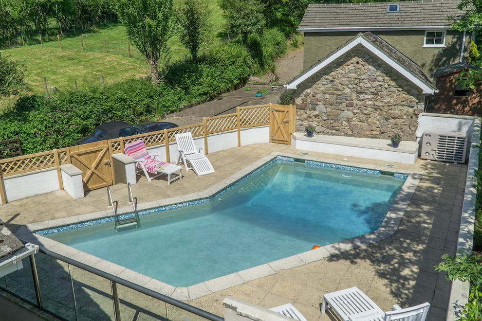 Pembrokeshire Holiday Home With Pool