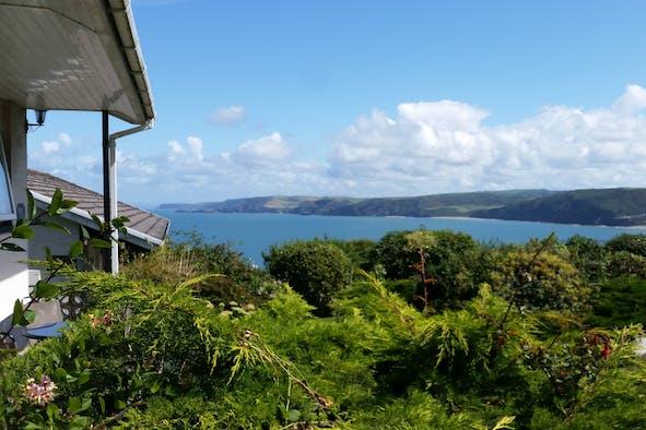 View from Trecregyn Farm
