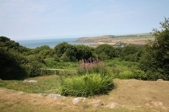 View of Newport from Nant y Rhedyn