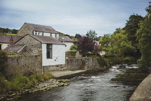 View of River Aeron
