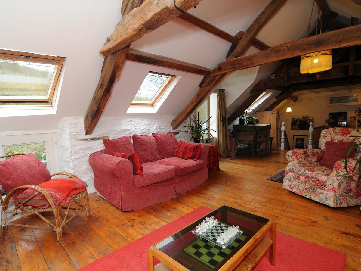 The old mill character country cottage with woodburner for Living room upstairs