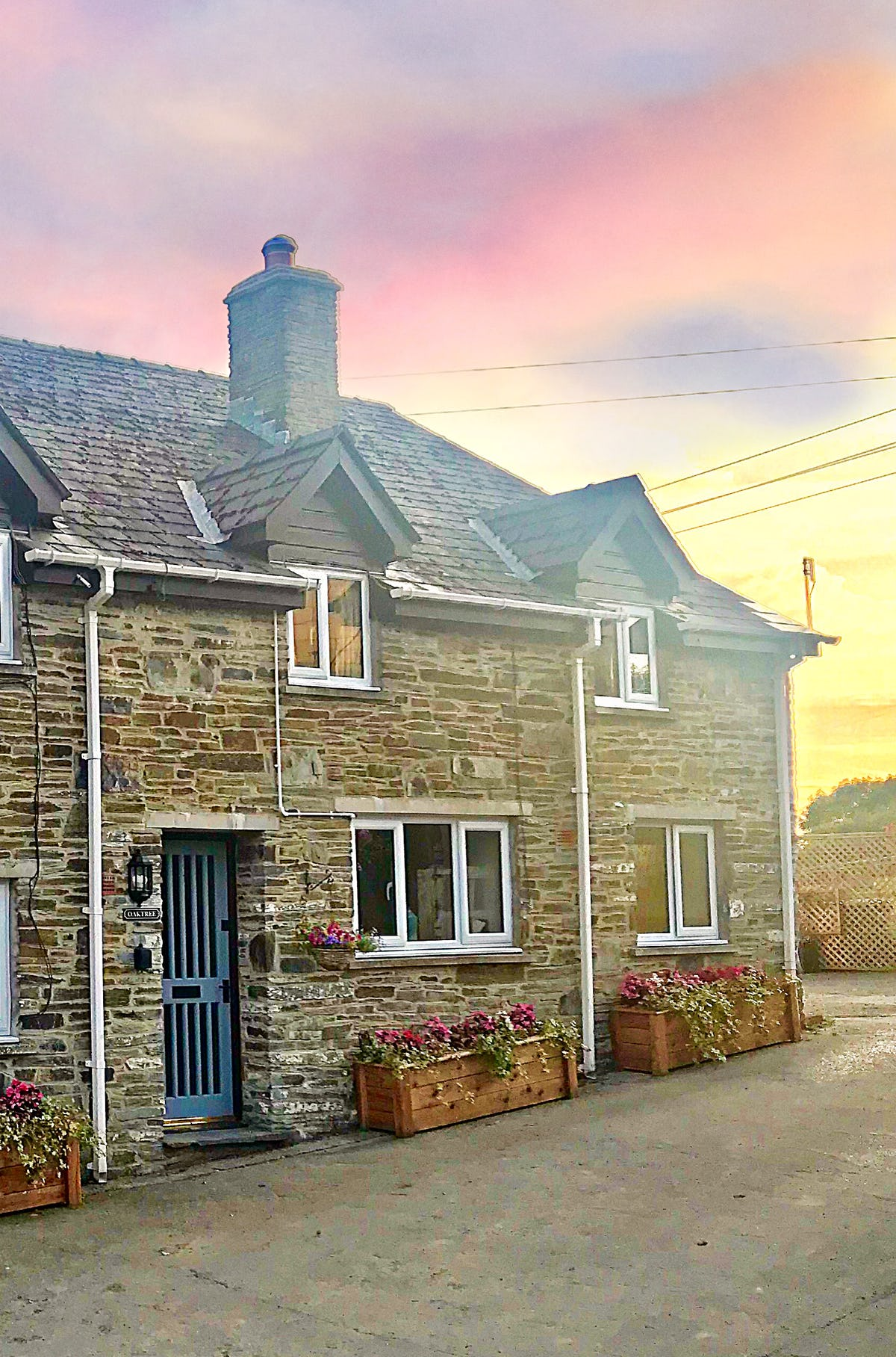Oaktree Cottage Large Coastal Cottage Near Cardigan Ceredigion Woodburner Great Views