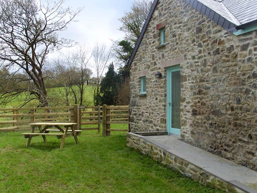 The Old Dairy and seating area