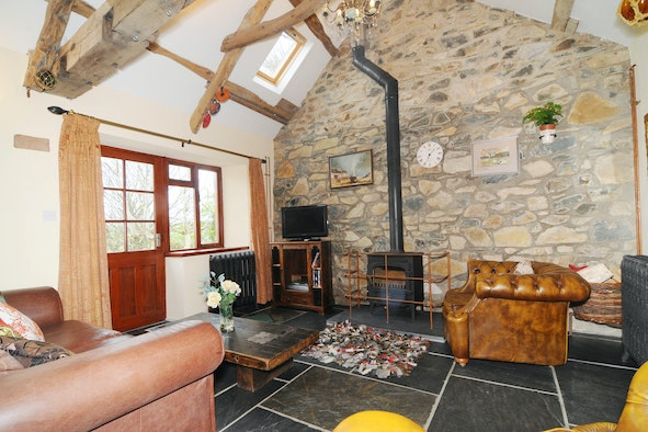 Y Bryn: restored character cottage